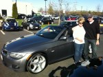 Marie and Gary in their new 2012 335i